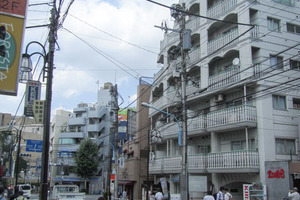 シルバーマンション早稲田の外観