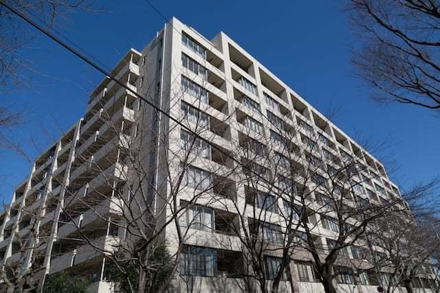 ガーデンコート成城の外観