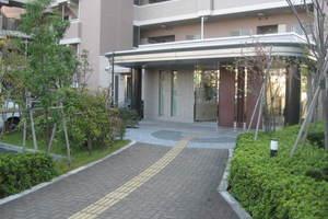 京急シティ多摩川のエントランス