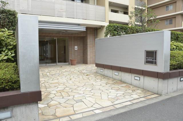 ミオカステーロ篠崎のエントランス