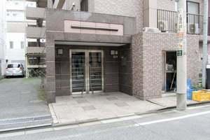 シーアイマンション東中野パークサイドのエントランス