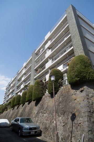 成城マンションの外観