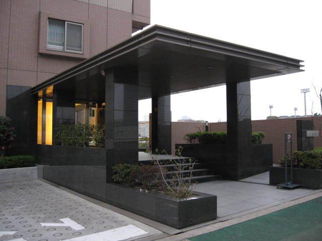 コスモ東京キャナルプレイスのエントランス