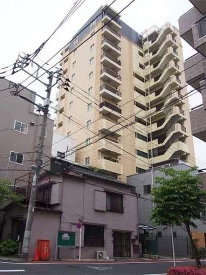 ウィルレーナ東京入谷の外観