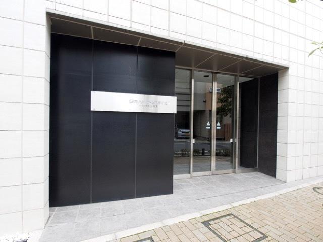 グランスイート加賀のエントランス