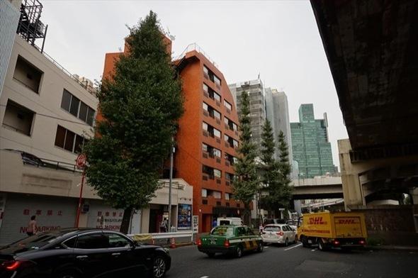 グランメール六本木の外観