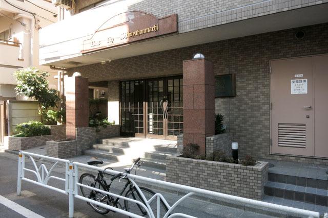 ライオンズシティ渋谷本町のエントランス
