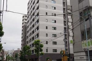 クレヴィア東京八丁堀湊ザレジデンスの外観