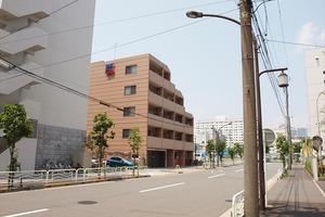 スカイコート東京ベイ東雲壱番館の外観