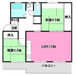 西三田住宅4街区3号棟の間取り