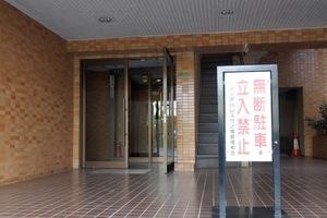 ダイアパレス竹ノ塚のエントランス