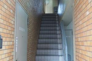蔵前グリーンプラザ2番館のエントランス