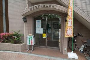 レインボーヒル桜台のエントランス