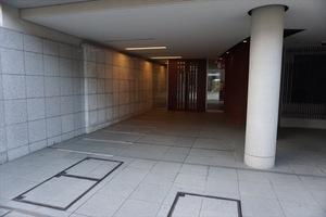 ルフォン中野上鷺宮弐番館のエントランス