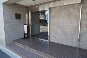 コスモ石神井公園プリオールのエントランス