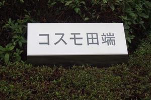 コスモ田端の看板