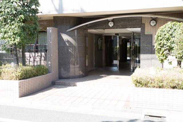 藤和シティコープ世田谷桜のエントランス