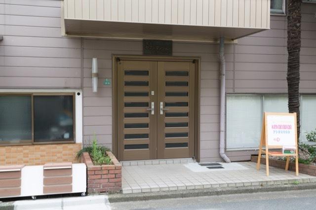 豊玉セブンマンションのエントランス