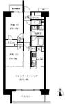サンクレイドル横濱鶴見2の間取り