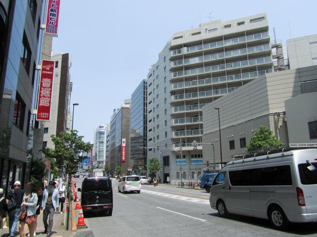 レイフラット新宿の外観