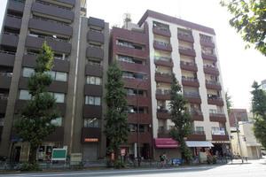 アヅママンション(文京区)の外観