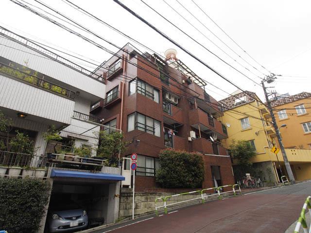 キャニオンマンション文京西片の外観