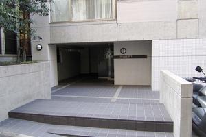 スタジオデン渋谷のエントランス