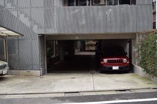 大岡山スタジオのエントランス