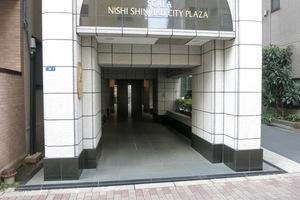 スカーラ西新宿シティプラザのエントランス
