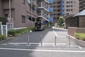 東京インターマークスのエントランス