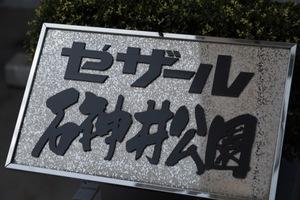 セザール石神井公園の看板