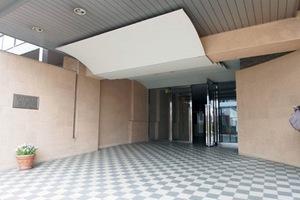 藤和シティホームズ西新井のエントランス
