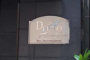 プレールドゥーク銀座イースト2の看板