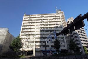 板橋蓮根台ダイヤモンドマンションの外観