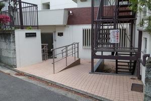 石神井パークサイドマンションのエントランス