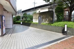 ビューネタワー平井のエントランス