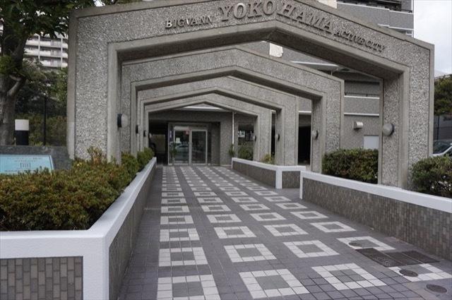 ビッグヴァン横浜アクティブシティのエントランス