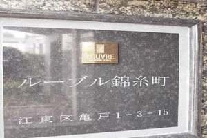 ルーブル錦糸町の看板
