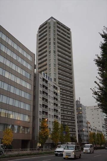 品川タワーレジデンスの外観