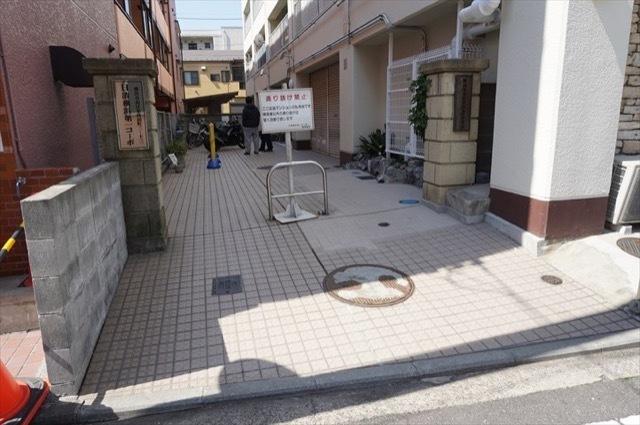 日清横浜第1コーポのエントランス
