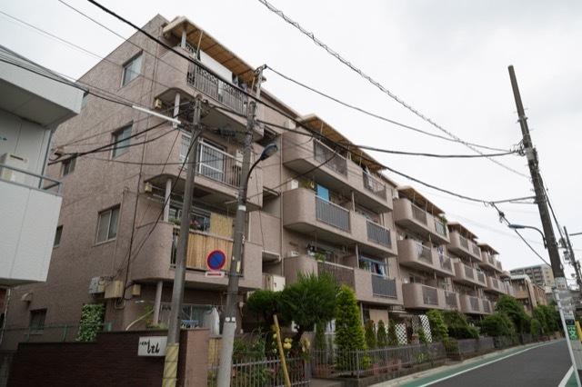 三田中村橋コーポの外観