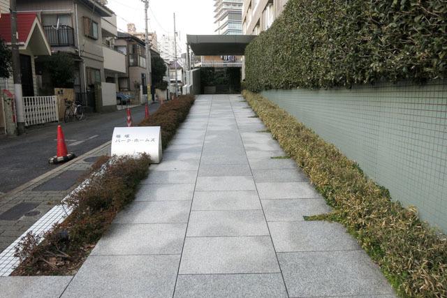 笹塚パークホームズのエントランス
