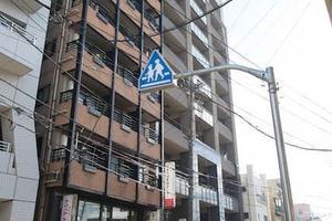 ハイセレサ奥沢シティタワーの外観