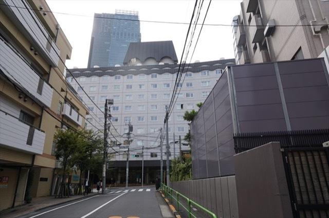 秀和赤坂レジデンシャルホテルの外観