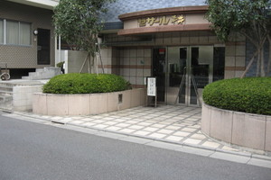 セザール平井のエントランス