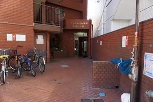 ニックハイム鶴見渡辺ビル第1のエントランス