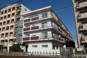 尾山台サマリヤマンションの外観