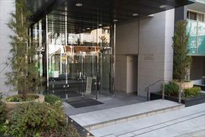 シティハウス世田谷桜丘のエントランス