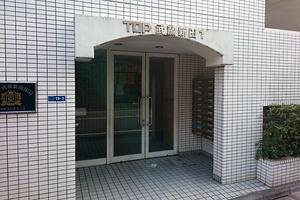 トップ武蔵新田第1のエントランス
