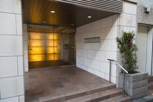 オープンレジデンシア桜新町のエントランス